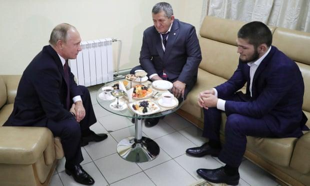 В.Путин: Хабибын оронд байсан бол хариуг нь барих байсан