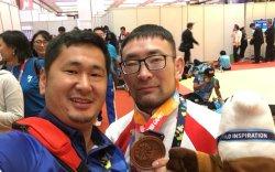 Монголын баг тэмцээнээ дөрвөн медальтай үргэлжлүүлж байна