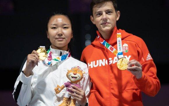 Э.Энхмаа залуучуудын олимпийн холимог багийн аварга болов