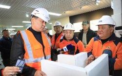 Ерөнхий сайд У.Хүрэлсүх МАК-ийн үйлдвэрүүдтэй танилцлаа