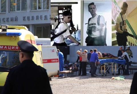 Крым хойгийн коллежид гарсан халдлагад 20 хүн амь үрэгджээ