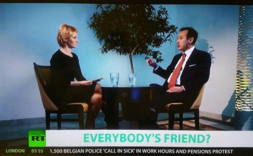 Гадаад харилцааны сайд Д.Цогтбаатар RT телевизэд ярилцлага өгчээ