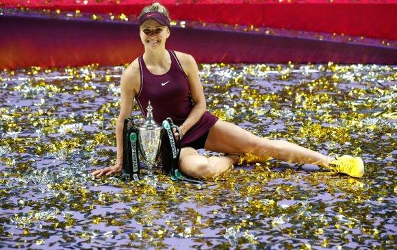 Украины Елина Свитолина карьерынхаа хамгийн том шагналыг хүртлээ