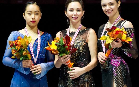 Е.Медведева гуравдугаар байранд орлоо
