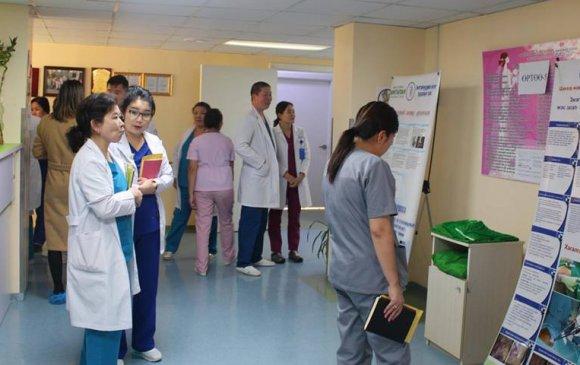 """Амгалан амаржих газрын эмэгтэйчүүдийн эмгэгийг эмчлэх тасгийн """"Нээлттэй хаалганы өдөрлөг"""" боллоо"""