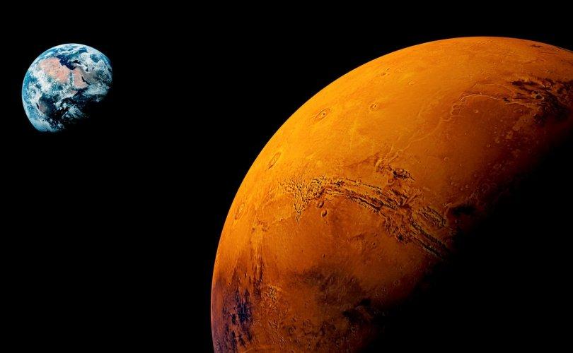 Ангараг гариг дээр амьд биет амьдрах хангалттай хүчилтөрөгч бий