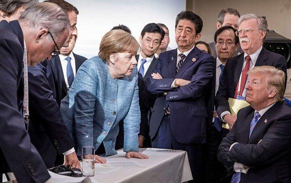 Судалгаа: Хүмүүс Трампаас илүү Меркельд итгэж байна