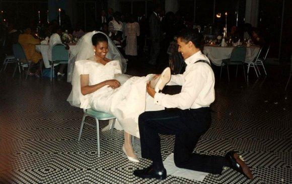 Ноён, хатагтай Обамагийн 26 жилийн ойн романтик зурвас