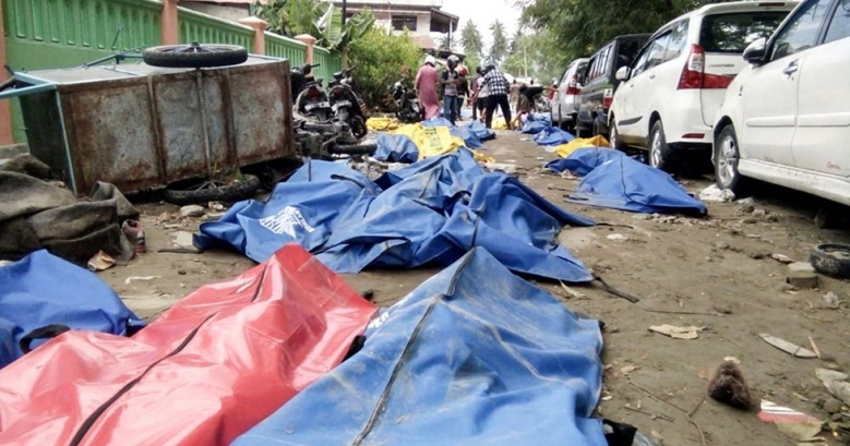 Индонезид болсон цунамигийн үеэр 1000 гаруй хоригдлууд оргожээ