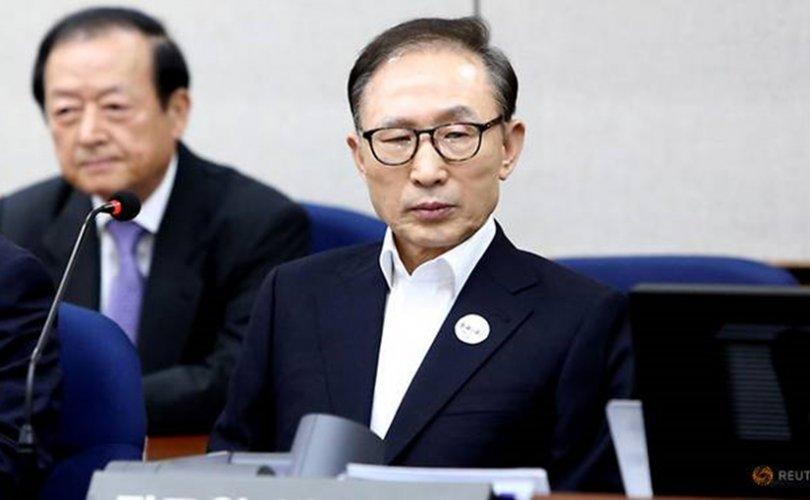 Өмнөд Солонгосын экс ерөнхийлөгч 15 жилийн хорих ял авлаа