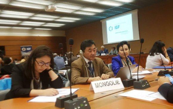 Уул уурхайн засгийн газар хоорондын 14 дэх форумд монголын төлөөлөгчид оролцлоо