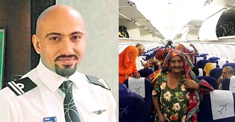 Энэтхэг нисгэгч тосгоныхоо хөгшдийг онгоцоор аялуулж, амлалтаа биелүүлжээ