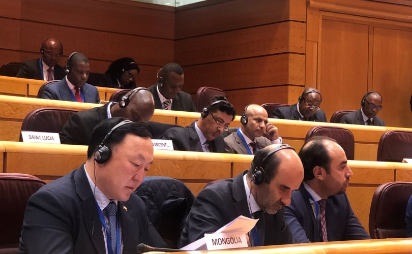 Л.Элдэв-Очир НҮБ-ын Хүнс, хөдөө аж ахуйн байгууллагын хуралд оролцож байна
