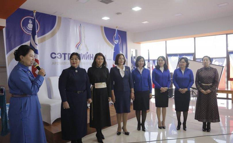 Ардчилсан эмэгтэйчүүд баруун бүст ажиллана
