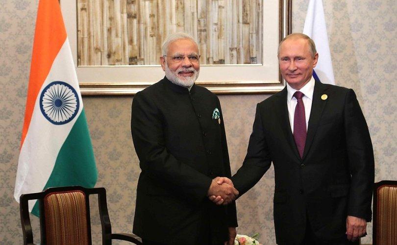 Путин: ОХУ, Энэтхэгийн худалдаа 30 тэрбум долларт хүрнэ