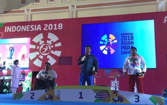 Азийн паралимпийн наадмаас таван медаль хүртэв