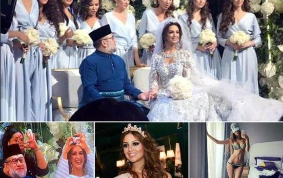Малайзын хаантай гэрлэсэн Оросын мисс