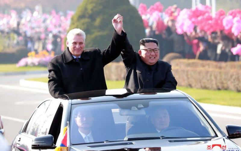Кубын Ерөнхийлөгч Хойд Солонгост айлчилжээ