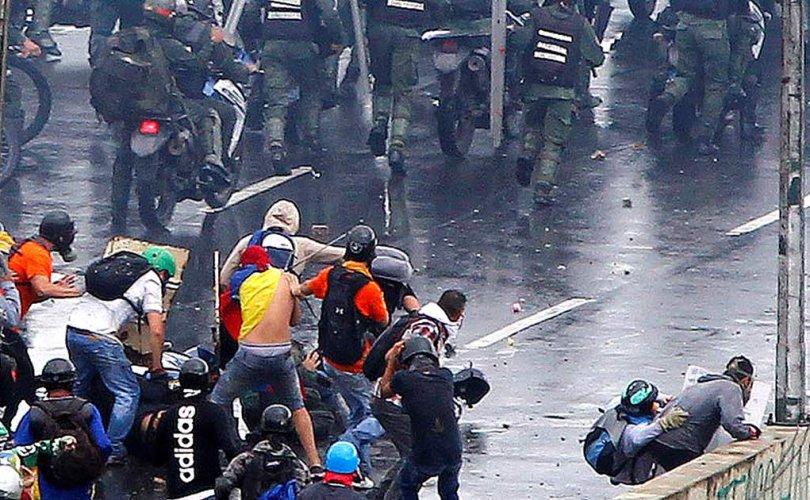 Венесуэлийн поп амлалт ба хоосон лангуу