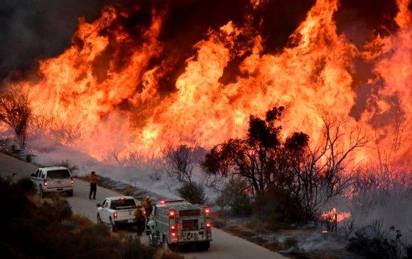 Калифорнийн түймэр гамшгийн хэмжээнд хүрчээ