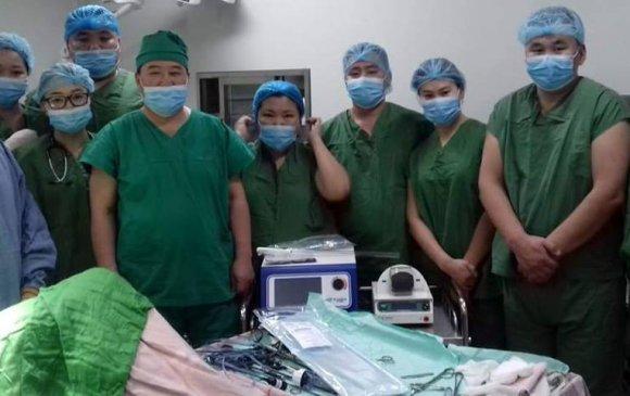 Монголд анх удаа умайн хоргүй хавдрын тохиолдолд мэс заслын бус эмчилгээ хийлээ