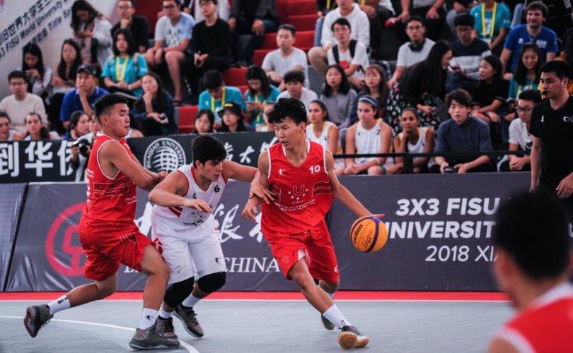 3×3 сагсан бөмбөгийн оюутны дэлхийн лигийн тэмцээд Монгол Улс шилдэг наймд шалгарчээ