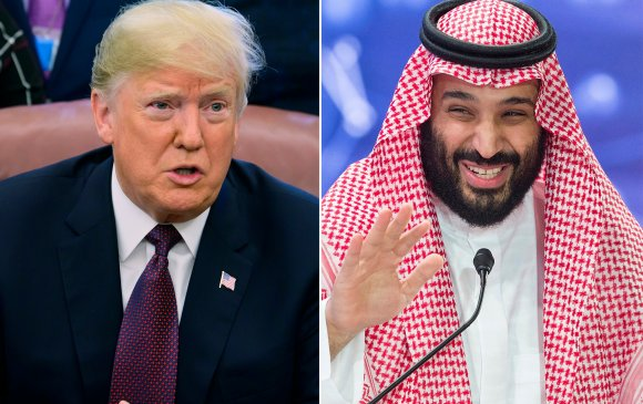 Трамп Саудын Арабыг хаацайлж байна