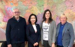 Бельгийн Вант Улсын хүүхэд үрчлэлийн байгууллагын төлөөлөгчдийн хүлээн авч уулзлаа