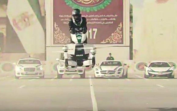 Дубайн цагдаа нар нисдэг мотоцикл хэрэглэнэ