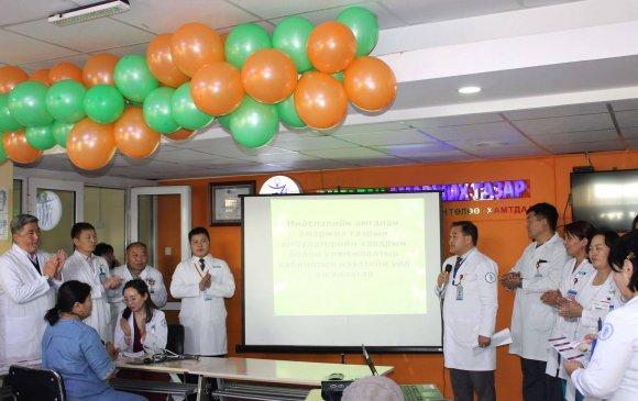 Амгалан амаржих газрын амбулаторийн тасагт Уламжлалт болон хавдрын кабинет шинээр нээгдлээ