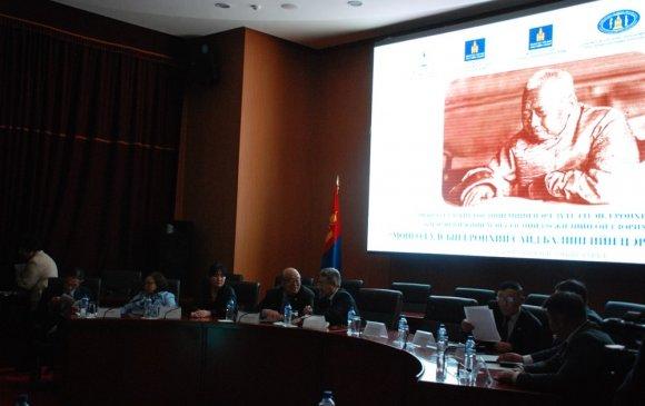 Б.Цэрэндорж нь Монгол улсыг орчин үеийн улс болгох эх суурийг тавьсан эрин цагийн зүтгэлтэн