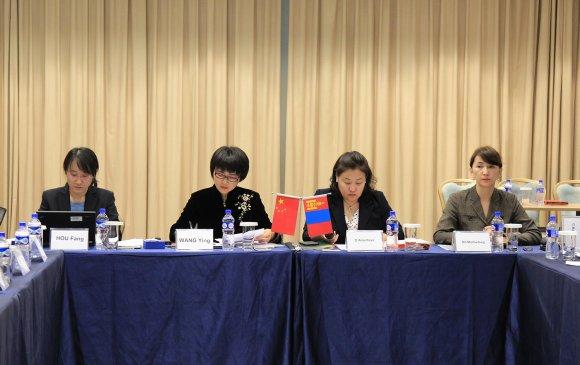 Монгол-Хятадын байгаль орчны яамдын шинжээчдийн уулзалт боллоо