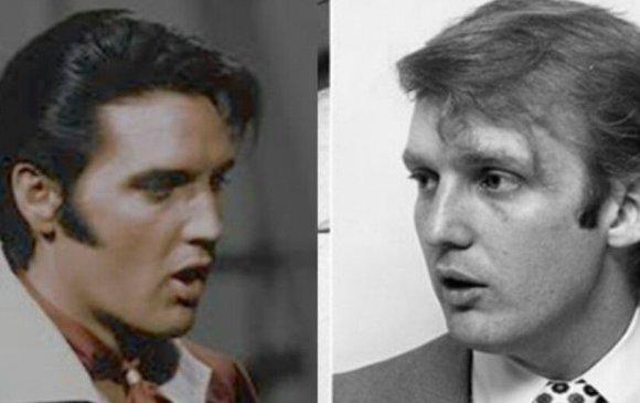 Трамп өөрийгөө Элвис Преслитэй харьцуулжээ