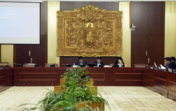 ХЗБХ: Үндсэн хуулийн цэцийн дүгнэлтийг хэлэлцэхийг түр хойшлуулав