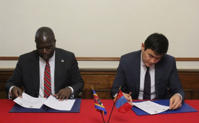 Монгол Улс Эсватинийн Хаант улстай дипломат харилцаа тогтоов