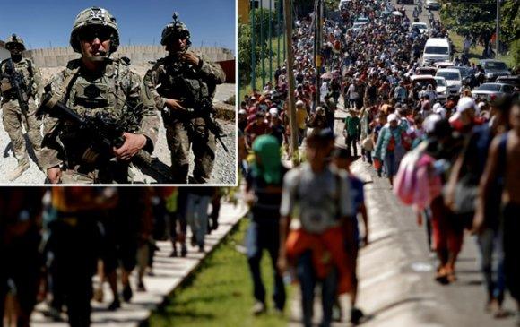 Трамп 15 мянган цэргээ Мексикийн хил рүү илгээхэд бэлэн гэв
