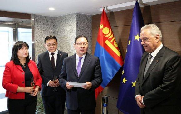Европын холбооноос Монгол Улсад суух төлөөлөгчийн газар албан ёсоор нээгдэв