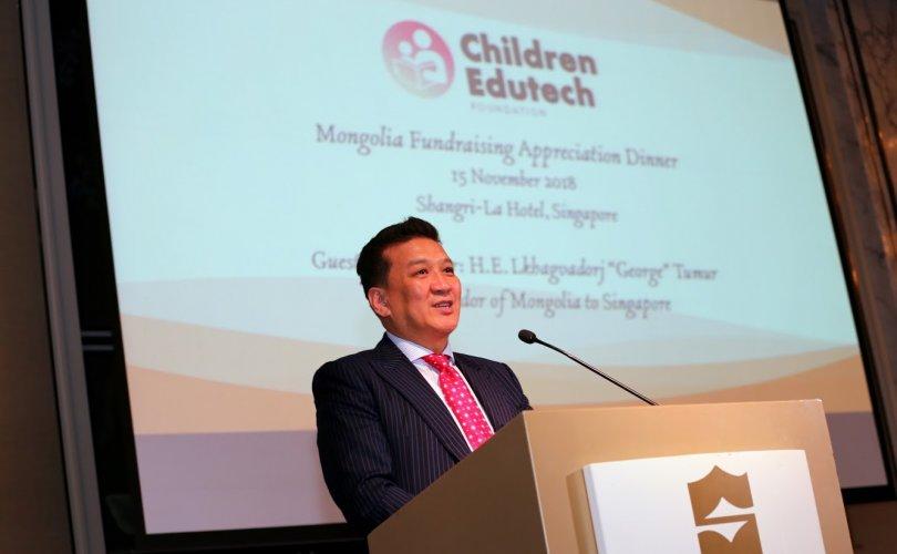 """""""Монгол дижитал сургууль"""" төслийн хүндэтгэлийн хандивын арга хэмжээ болов"""