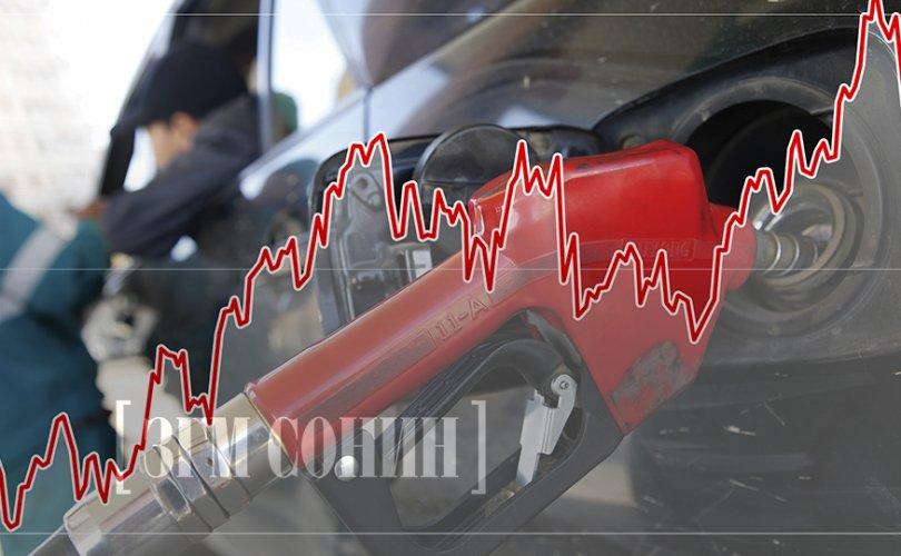 Газрын тосны үнэ сүүлийн найман сарын доод түвшинд уналаа