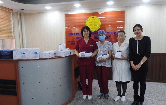 Biznetwork.mn СХД-ийн Нэгдсэн эмнэлгийн хүүхдийн тасагт 4 утлагын аппарат бэлэглэлээ