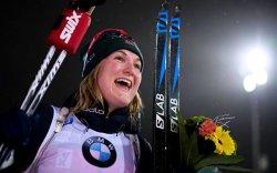 Норвеги бүсгүй М.Олсбю карьерынхаа анхны түрүүг хүртэв