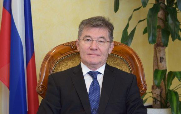 ОХУ-аас Монгол Улсад суугаа Элчин сайд И.К. Азизов мэндчилгээ дэвшүүлэв