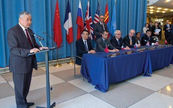 Цөмийн зэвсгээс ангид гэж зарласан цор ганц улс нь Монгол