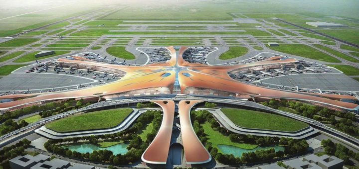 Бээжингийн шинэ нисэх онгоцны буудал сэргээгдэх эрчим хүч ашиглана