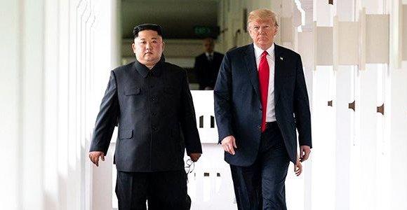 Солонгосын хойг цөмийн зэвсэггүй болох нь АНУ-аас шалтгаална