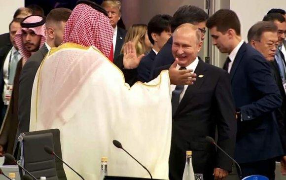 Саудын хунтайж болон В.Путины хачирхалтай мэндчилгээ