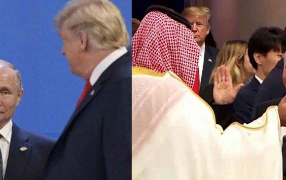 Трамптай мэнд мэдэлцээгүй ч Саудын ханхүүтэй дотноор мэндчилэв