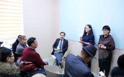 Д.Цогтбаатар хөгжлийн бэрхшээлтэй иргэдтэй уулзлаа