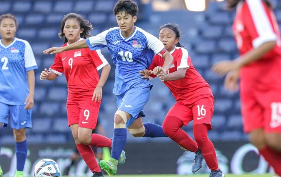 ХӨЛБӨМБӨГ: Охидууд Сингапурын багийг хожив