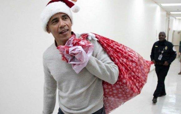 Санта Клаус Обамагийн сюрприз